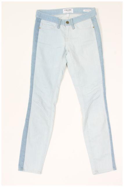 【5月18日に再値下げ!】FRAME DENIM Le Skinny de Jeanne デニム[LDNO33265]【中古】【5400円以上のご購入で送料無料】