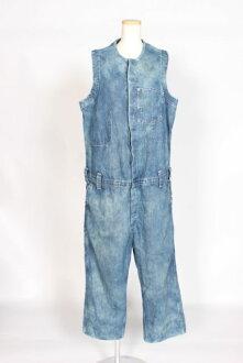 李维斯Levi's VINTAGE CLOTHING distressed denim粗斜纹布一体式乳罩紧身衣[LTUO76809]