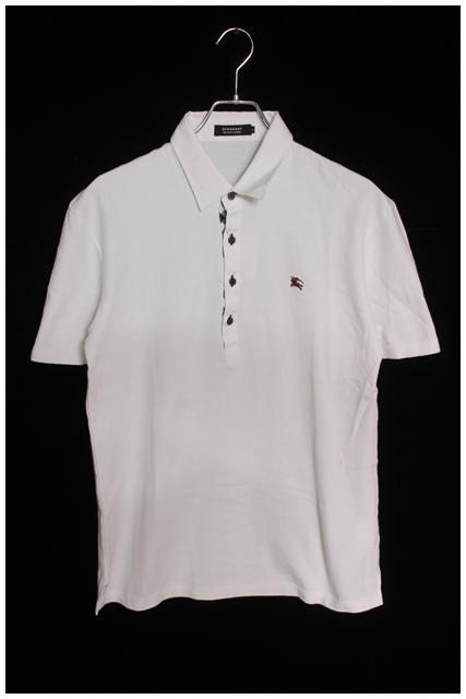 バーバリーブラックレーベル 鹿の子刺繍ポロシャツ[MTSO27539]【SS】【中古】【5400円以上のご購入で送料無料】