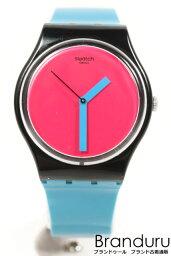 Swatch swatch橡膠皮帶手錶[LWWP22604]