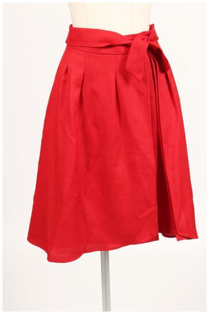 【入荷時より値下げ!】Swingleスウィングル プリーツデザインフレアスカート[LSKN89481]【PP】【中古】【2点以上同時購入or5400円以上のご購入で送料無料】