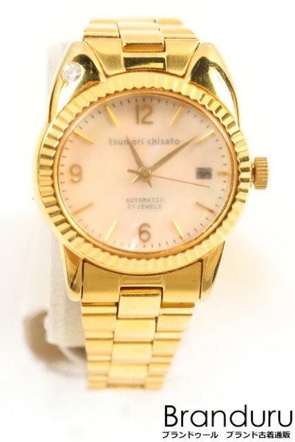 【新入荷!!】ツモリチサト 20周年自動巻きまねきねこ腕時計[LWWP14716]【中古】【5400円以上のご購入で送料無料】