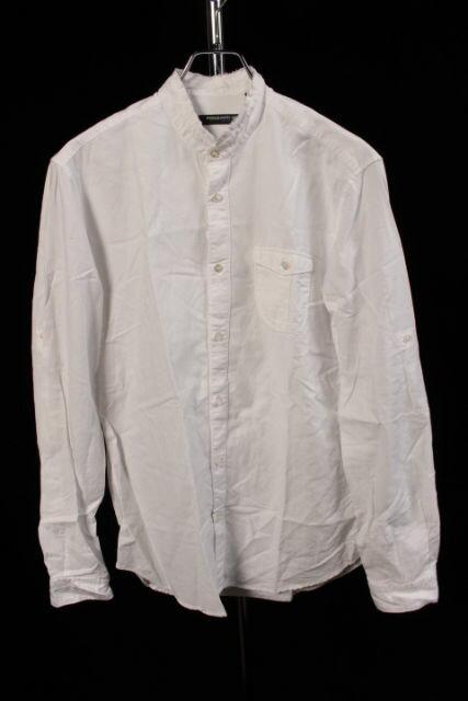 【新入荷!!】POGGIANTI1958 バンドカラーコットンシャツ[MSHP80887]【PP】【中古】【5400円以上のご購入で送料無料】