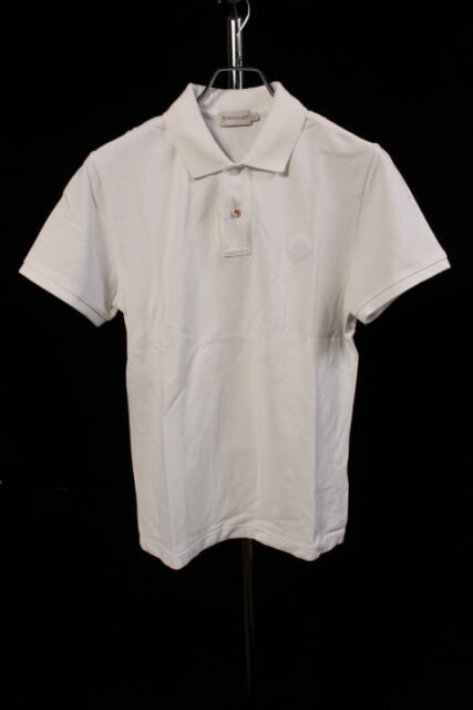 【新入荷!!】モンクレールMONCLER MAGLIAワッペン鹿の子ポロシャツ[MTSP81411]【SS】【中古】【5400円以上のご購入で送料無料】