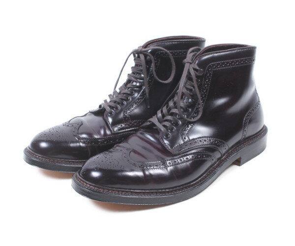 【新入荷!!】オールデンALDEN 4461コードバンウイングチップブーツ[MFWP81162]【中古】【5400円以上のご購入で送料無料】