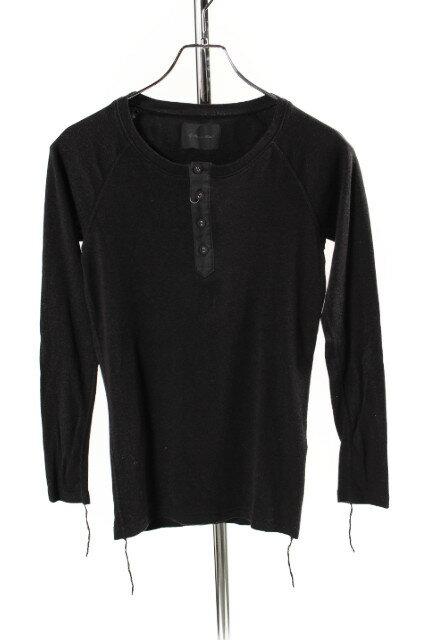 【新入荷!!】ラウンジリザード コットン混ヘンリーネックTシャツ[MTSP81940]【PP】【中古】【5400円以上のご購入で送料無料】