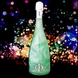 VIVIUS ヴィヴィウス ブルー1個/ ラメ スパークリング ワイン シャンパン マバム プラチナム メッセージカード ヴィヴィウス 内祝い 誕生日プレゼント おしゃれ 女子会 パーティ おもたせ ビビウス 結婚祝い
