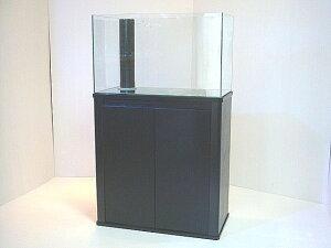 【RCP】【激安セット祭り】600サイズ★オーバーフロー水槽セット★ブラック三重管仕様★■  【最安値挑戦】 ■ 【大型ガラス製品】