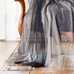 スパングル&オーロラミディドレス