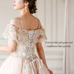 海外デザインのロングドレス