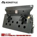 ケンスタイル KENSTYLE 【 ACTIVE リアゲートキャリア ≪ スコップ別売仕様 ≫】 スズキ ジムニーシエラ 型式 JB74W …