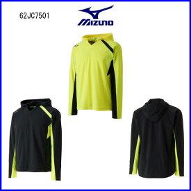 【クーポンで最大300円OFF】 ミズノ ストレッチフリースシャツ カラー2色 XS〜XL 62JC7501 テニス ソフトテニス バドミントン 楽天ファッション