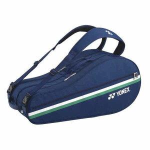 あす楽 ヨネックス YONEX 75周年 ラケットバッグ6 テニス6本用 BAG02RAP ミッドナイト