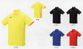 ヨネックス ゲームシャツ フィットスタイル 10298 ライトイエロー ブラック/オレンジ ミッドナイトネイビー サンセットレッド SS S M L O XO