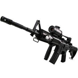 ダブルイーグル コルトM4A1 M16 予備マガジン付き高性能アサルトライフル 電動ガン ドットサイト搭載モデル 18歳以上フルセットエアガン