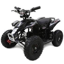 ポケバイ 4輪ATV バギー最新1000W前後ディスクブレーキMINI 四輪バギー最高速度 40km/h ブラック トリプルサス仕様 バック走行も可能ポケバイATV バギー 乗用玩具
