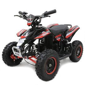ポケバイ 4輪ATV バギー最新1000W前後ディスクブレーキMINI 四輪バギー最高速度 40km/h レッド トリプルサス仕様 バック走行も可能ポケバイATV バギー 乗用玩具