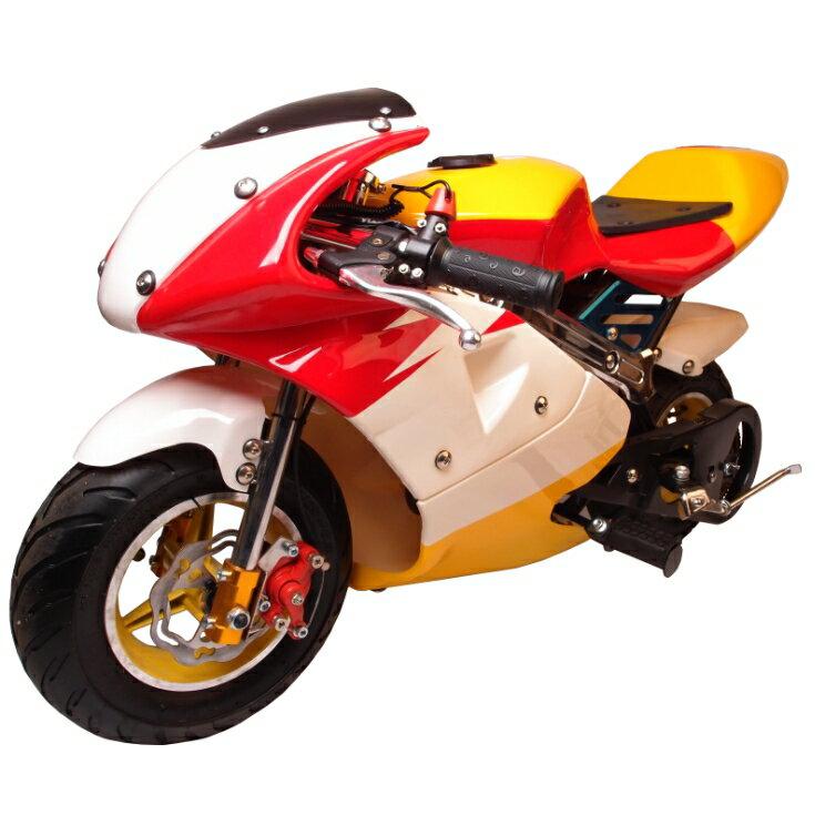 ポケバイ CR-PBR01☆50cc GP赤白黄カラーモデル ポケットバイク格安消耗部品