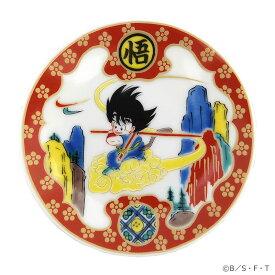 ドラゴンボール 九谷焼豆皿 金襴筋斗雲図