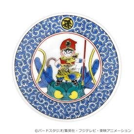 ドラゴンボール 九谷焼豆皿 唐草神龍悟飯図