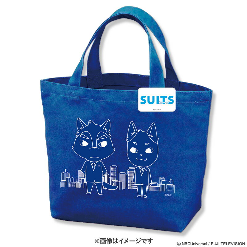 SUITS/スーツ トートバッグ(缶バッジ付)