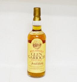 【中古・未開栓】10年 GLEN GARIOCH グレンギリー シングルモルト スコッチ ウィスキー 750ml 40% 洋酒 箱無 ラベル剥がれ有 01484