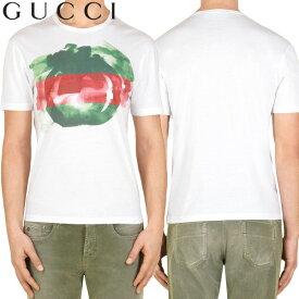9 GUCCI グッチ インターロッキングG タイダイロゴ クルーネック ホワイト 半袖 Tシャツ 363350 X8980