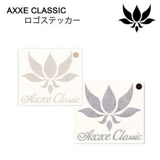 AXXE CLASSIC logo sticker