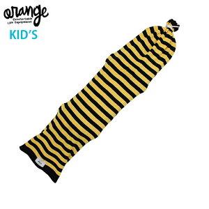 orange Snowboard Sack Kids オレンジ スノーボード サック ボードケース ニットカバー キッズボード スノーボードキッズ 130cm