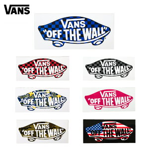 バンズ ヴァンズ デッキ オフ ザ ウォール ステッカー スモール 小 VANS SK8Deck Off The Wall Sticker Small バンパーステッカー スケート ストリート スノーボード サーフィン