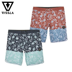 "VISSLA ヴィスラ Wild Coast 20"" Boardshort ボードショーツ サーフパンツ メンズ 水着 スイムウェア トランクス ビーチ 2019"