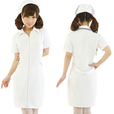 コスプレ コスプレ ナース ナース服 衣装 制服 看護婦 コスチューム 癒しのピュアナース KA0178WH