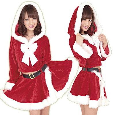 コスプレ 衣装 サンタ クリスマス コスチューム レディース 女性用 サンタクロース コスプレ衣装 初雪サンタのプレゼント KA0201RE
