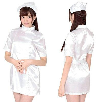 ハロウィン 衣装 コスプレ お願い ナース(おねがいなーす) KA0007WH ナース コスプレ 衣装 定番 看護婦 ナース服