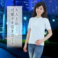 ポロシャツレディース半袖無地半そでビズポロクールビズファッション紫外線カットUVカット12