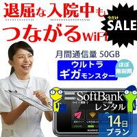 WiFiレンタルソフトバンクE5383商品画像