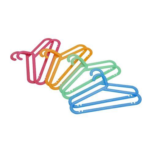IKEA カラフル子供用 ハンガー 4色8本セット! 【BAGIS】 ベビー/キッズ用ハンガー