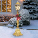 【送料無料】LED クリスマス街灯 約182cm 屋内外用/street lamp/クリスマス イルミネーション