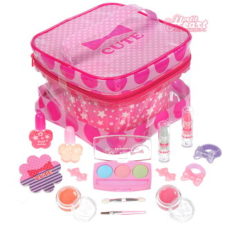 Makeup toy for ビニールバニティメイクバッグキッズ