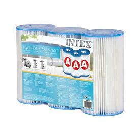 送料無料【3個セット】INTEX 浄化ポンプ用フィルターカートリッジ「A」3個セット