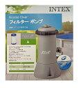 【送料無料】INTEX プール用浄化循環ポンプ「Krystal Clear」カートリッジA1個付属/フィルターポンプ 28637