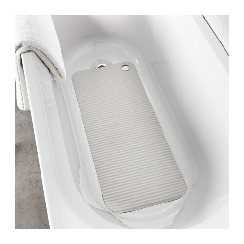 IKEA【DOPPA】 バスタブマット 【ライトグレー】 滑り止めマット 浴室用