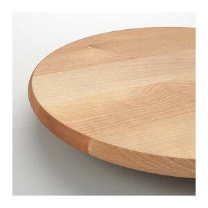 IKEA【SNUDDA】ターンテーブル/回転台直径39cm木製イケア