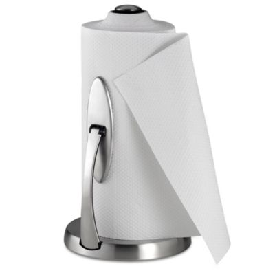 OXO ステンレス製 ペーパータオルホルダー SoftWorks【Simply Tear Paper Towel Holder】 キッチンペーパー/コストコ