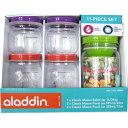 aladdin メイソンフードジャー&サラダジャー 5個セット プラスチック製 アラジン/軽量