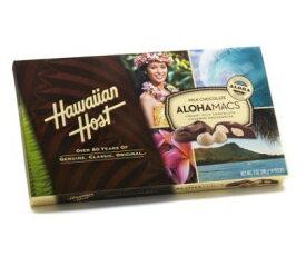Hawaiian Host 【ALOHA MACS】マカダミアチョコレート 397g(28粒入り) マカデミアナッツ/お土産/ハワイ/ハワイアンホースト/アロハマックス