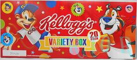 ケロッグ●バラエティ シリアル 4種類20箱セット 朝食に!おやつに! KELLOGG's コーンフレーク