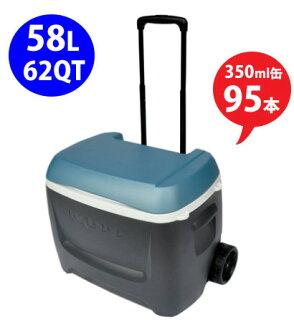 62 qt 圆顶冰屋 MAXCOLD 58 L (62 QT) 连铸机 òwith 冷却器框 / 轮 / 圆顶冰屋 / 我长大