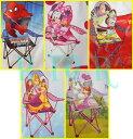 exxle ディズニーキャラクター ポータブルチェアー(折りたたみ式イス) 子供用 Disney