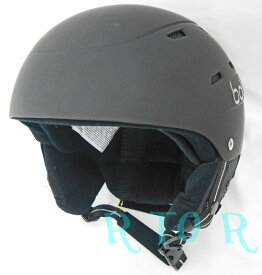 Bolle ボレー ジュニア用ヘルメット 51-55cm ブラック スキー ウインタースポーツ 子供用